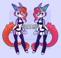 Chibi Anthro Adopt (Closed) by SolalaAdopts