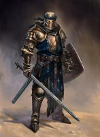 knight concept by GeorgeVostrikov