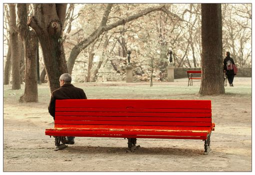 Loneliness benches by JoseMelim