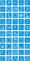 Free website icons set - PNGs by webdesigncreatives