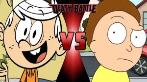Lincoln Loud vs. Morty Smith by OmnicidalClown1992