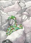 Bruce the Camouflage Sheep by angelacapel