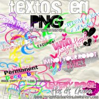 Textos en PNG de Miley by PartyWithTheStars