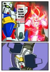 Commission - G Gundam X Power Rangers - Page 3 by punkbot08