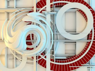 Abstract shape 7 by paulcorfield