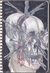 shattered inktober2017 day12 by ngxe