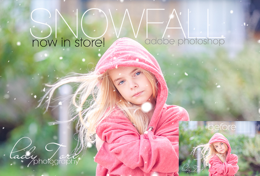 Snow Actions for Photoshop by Lady-Tori