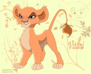 Cub Vitani design by Catgirl08
