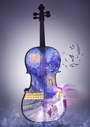 Wings of Music by Renata-s-art