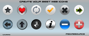 Create your best web icons by ilnanny