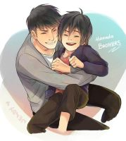 Hamada Brothers by WendyTanSW