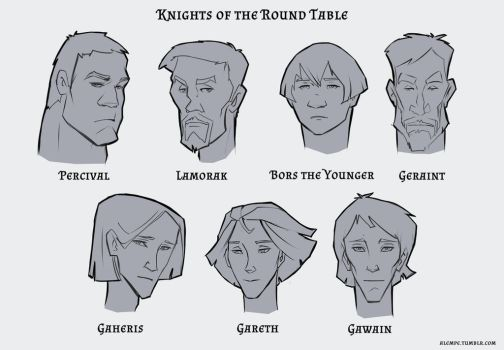Knights of the Round Table by alempe