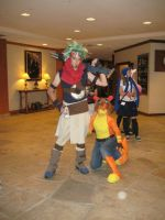 Jak and Daxter: Desert Heroes by AngryLittleGnome