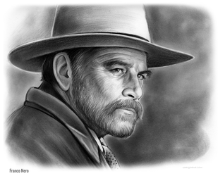 Franco Nero by gregchapin