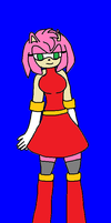 FA: Amy Rose The Hedgehog by Ant-D