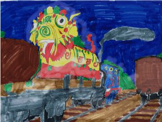 The Chinese Dragon by MeganekkoPlymouth241