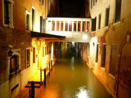 Canals, Walkways + City Lights by musicalgal99