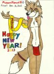 Happy New Year 2013 (2012) by MugenPlanetX