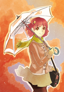 Autumn Rain by Yuemi22