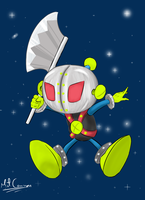 Iron Mask Bomber by MitConnors