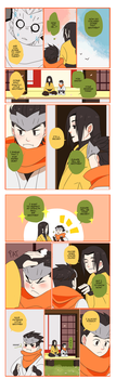 Overwatch Comic: Brothers Page 2 by Fruitloop-chan