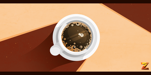 [Project: V] - Coffee Cup by Zat3am