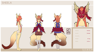 Reference sheet - Sheela by gowen-production