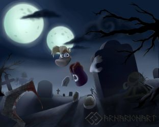 Rayman Grave Hill by ArnarionArt