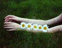 flowers on my arms by with-accusing-eyes
