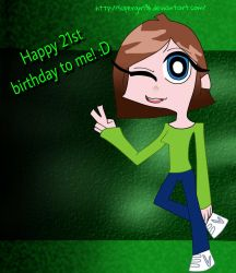 ...:Happy 21st birthday to me - Me in PaSwG:... by supergirl96