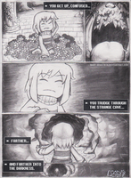 Undertale: A story written by the reader - Ch1-P2 by Rhay-Robotnik
