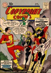 LIID 150: Captain Marvels! by johntrumbull