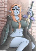 Twilight Princess Midna by Takilmar