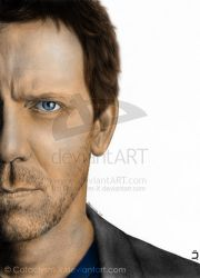 Dr. House Colored by rgh-artmix707