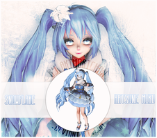 MMD Miku Hatsune - Snowflake (MODEL DL) by YumieDolly