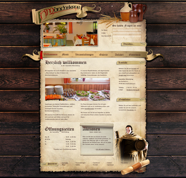 Pub Weblayout by medienvirus