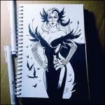 Sketchbook - The Matriarch by Candra