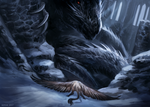 The Black Dragon of Iakahr by Kipine