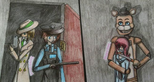 FNAF - Hostage situation by PaigeLTS05
