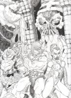Masters of the Universe by GenericComics