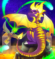 Like My Stripes? - Spyro Reignited by cloudypouty