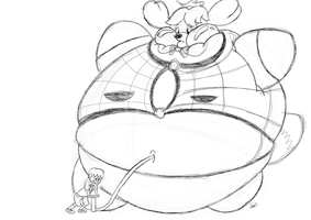 Villager, Isabelle isn't a balloon! by Joe-Awesome93