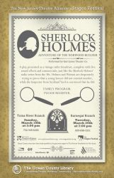Stages Fest - Sherlock Holmes by Mazzy12345