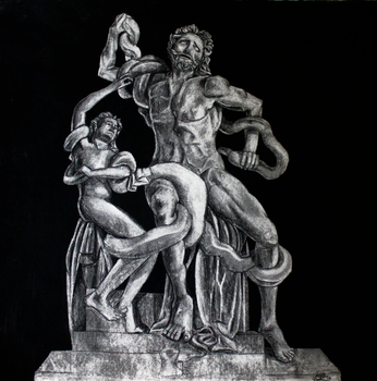 Laocoon and his sons by jessijoke