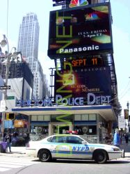 NYPD Time Square by dardenkoa