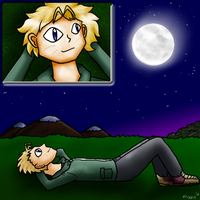 Moon Gazing by PipeDreamNo20