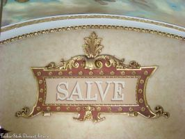 Victorian Letter Frame : 02 by taeliac-stock