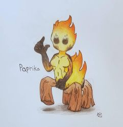 ~{ PAPRIKA THE SCAMPFIRE }~ by gamewitt20