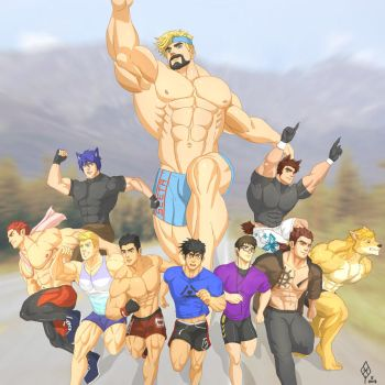 Groupie 1 : Morning Jog by Yecow