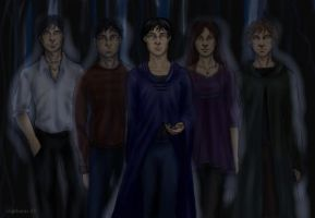 Deathly Hallows 34 by DrawnSeawards